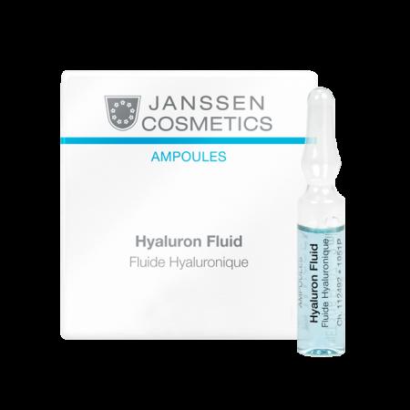 Ультраувлажняющая сыворотка с гиалуроновой кислотой Hyaluron Fluid 7 х 2 мл