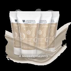 Зимний набор: Крем для рук 4 мини Hand Cream 4 x 15 мл